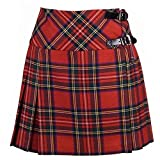 Neu Damen Royal Stewart Tartan Schottisch Mini Billie Schottenrock Mod Rock Größen 6-18UK -...