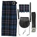 """Tartanista - Herren Kilt-Set - 5-teilig - Honour Of Scotland - Taille (Nabelhöhe) 106,7cm (42""""),..."""